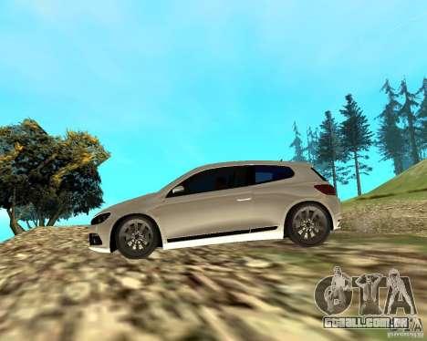 VW Scirocco III Custom Edition para GTA San Andreas