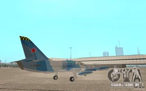 L-39 Albatross para GTA San Andreas vista direita