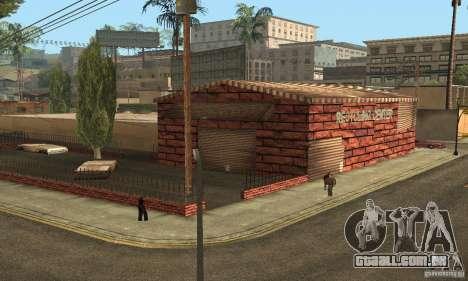 Grove Street 2013 v1 para GTA San Andreas por diante tela