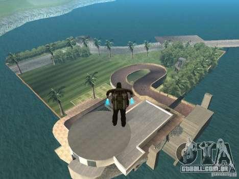 Mansão da ilha para GTA San Andreas