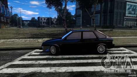 VAZ 2109 Drift Turbo para GTA 4 esquerda vista
