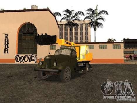 ZIL 157 GVC-32 para GTA San Andreas