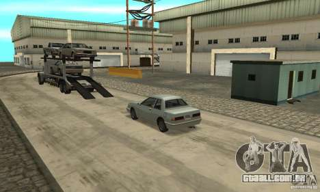 Avtoparkovŝik para GTA San Andreas terceira tela