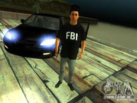 Menino no FBI para GTA San Andreas