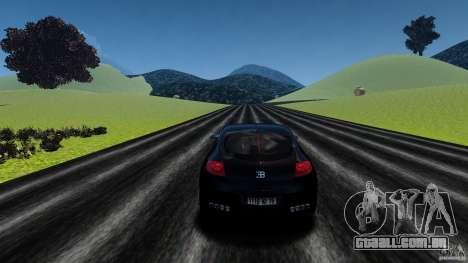 Bugatti Galibier 2009 para GTA 4 vista inferior