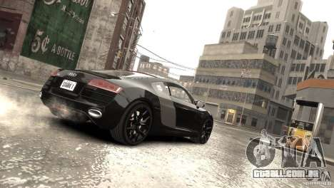 Audi R8 V10 2010 [EPM] para GTA 4 vista superior