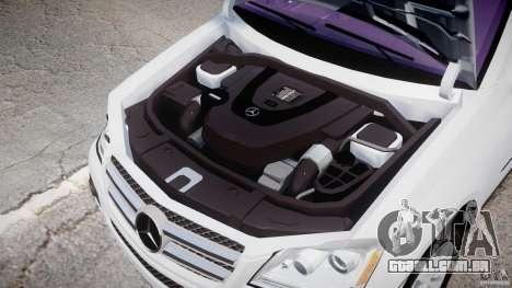 Mercedes-Benz GL450 para GTA 4 vista interior