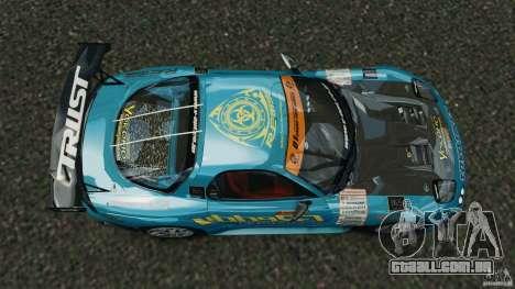 Mazda RX-7 RE-Amemiya v2 para GTA 4 vista direita