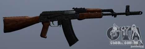 AKM para GTA San Andreas por diante tela