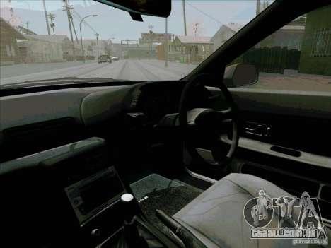 Nissan Skyline GTS-T para vista lateral GTA San Andreas