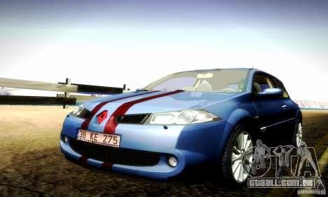 Renault Megane Coupe 2008 TR para GTA San Andreas vista interior