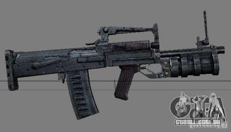 Um conjunto de armas do perseguidor V2 para GTA San Andreas oitavo tela