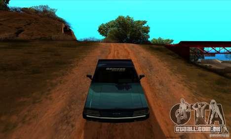 Ford Pampa Ghia 1.8 Turbo para GTA San Andreas vista direita