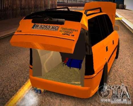Opel Astra GSI Caravan para vista lateral GTA San Andreas