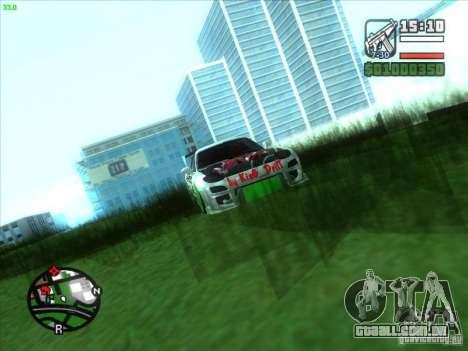 Mazda RX-7 Drift Version para GTA San Andreas vista interior