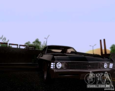 Super Natural ENBSeries para GTA San Andreas