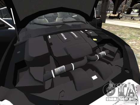 Jaguar XFR para GTA 4 motor