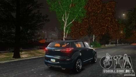Kia Sportage 2010 v1.0 para GTA 4 vista de volta