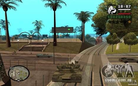 Hydra, mod Panzer para GTA San Andreas segunda tela