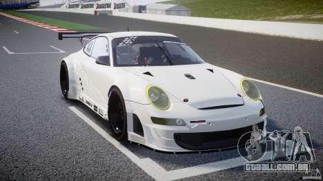 Porsche GT3 RSR 2008 SpeedHunters para GTA 4 vista interior