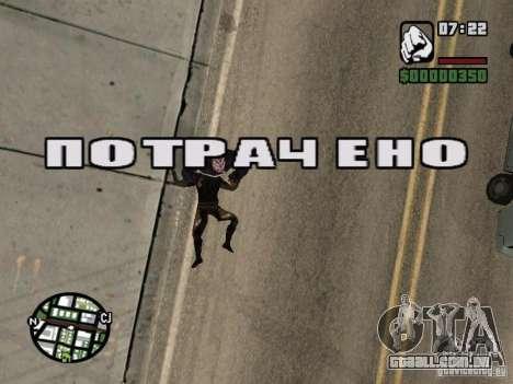 Zombe from Gothic para GTA San Andreas oitavo tela