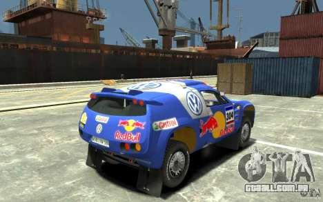 Volkswagen Touareg Rally para GTA 4 vista direita