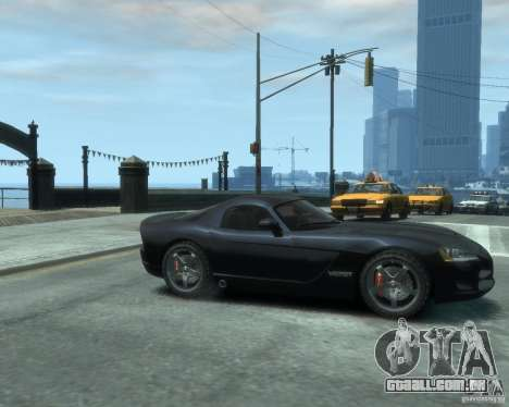 Dodge Viper srt-10 Coupe para GTA 4 vista direita