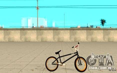 REAL Street BMX para GTA San Andreas esquerda vista