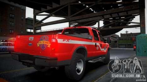 Ford Chief F250 para GTA 4 esquerda vista