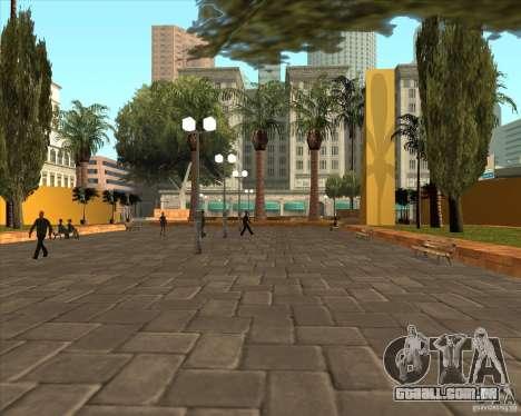 A nova Central Park de Los Santos para GTA San Andreas segunda tela