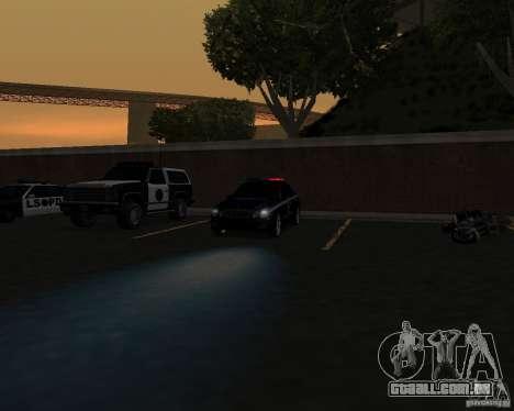 O trabalho da polícia! para GTA San Andreas terceira tela