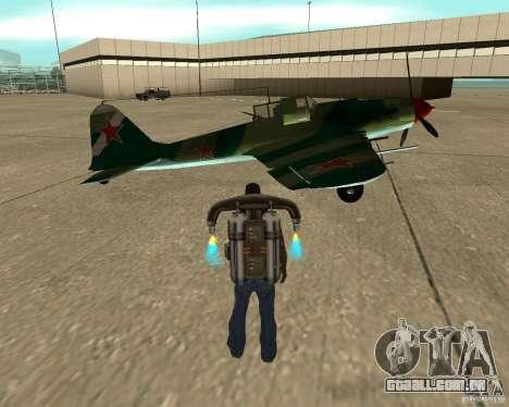 Il-2 m para GTA San Andreas vista direita