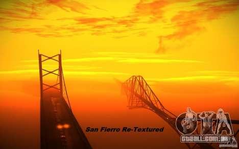 San Fierro Re-Textured para GTA San Andreas