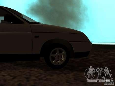 VAZ-21103 para GTA San Andreas vista traseira