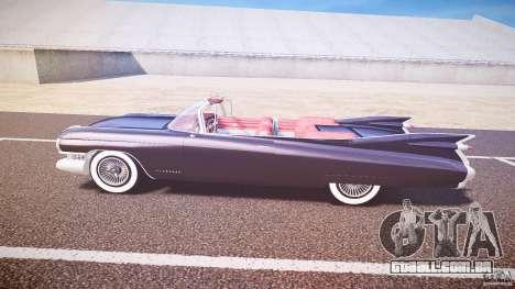 Cadillac Eldorado 1959 interior red para GTA 4 traseira esquerda vista