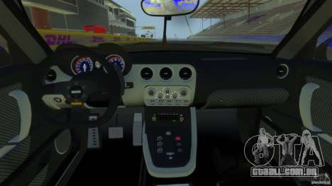 Alfa Romeo 8C Competizione Body Kit 2 para GTA 4 vista de volta