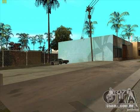 Car in Grove Street para GTA San Andreas sexta tela