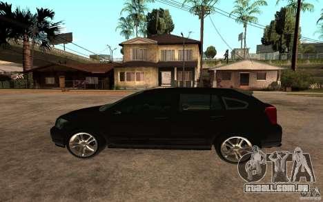 Dodge Caliber para GTA San Andreas esquerda vista