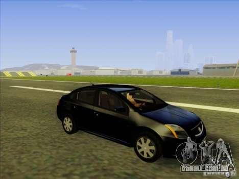 Nissan Sentra 2012 para GTA San Andreas vista interior