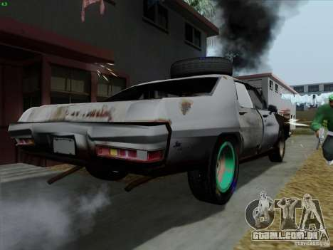 BETOASS car para GTA San Andreas vista direita