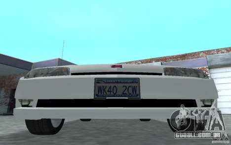 Saturn Ion Quad Coupe para GTA San Andreas esquerda vista