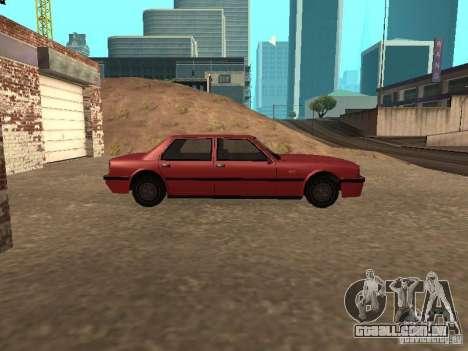 Vincent padrão para GTA San Andreas esquerda vista