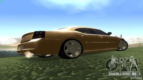 Dodge Charger SRT8 Re-Upload para GTA San Andreas vista traseira