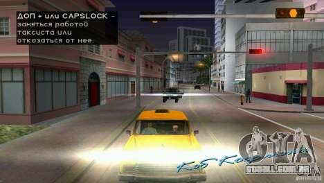 Passageiro de equitação para GTA Vice City