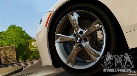 BMW Z4 sDrive 28is 2012 v2.0 para GTA 4 traseira esquerda vista