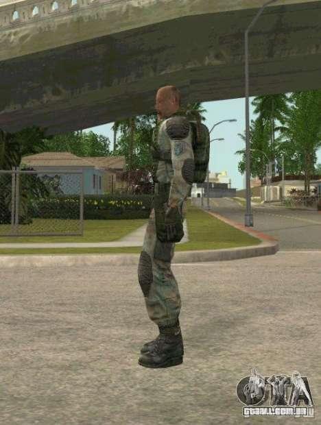 Lebedev de STALKER clear sky para GTA San Andreas segunda tela