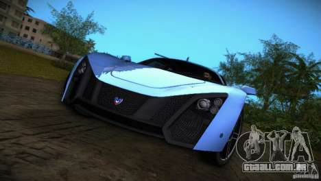 Marussia B2 2010 para GTA Vice City deixou vista