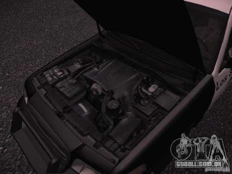 Ford Crown Victoria Police 2003 para GTA San Andreas vista interior