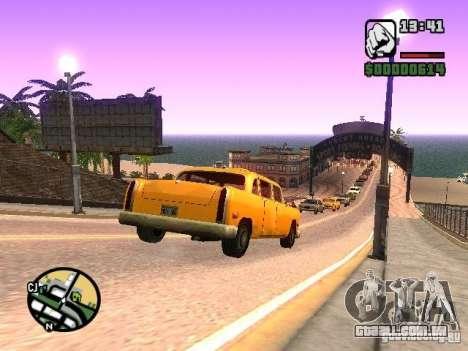 Timecyc BETA 2.0 para GTA San Andreas sexta tela