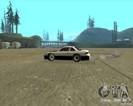 Nissan Silvia S13 streets phenomenon para GTA San Andreas vista interior